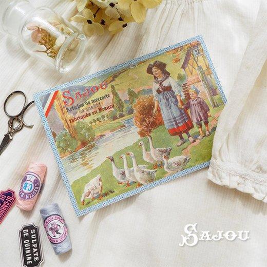 フランス SAJOU ポストカード【Alsace】【画像6】