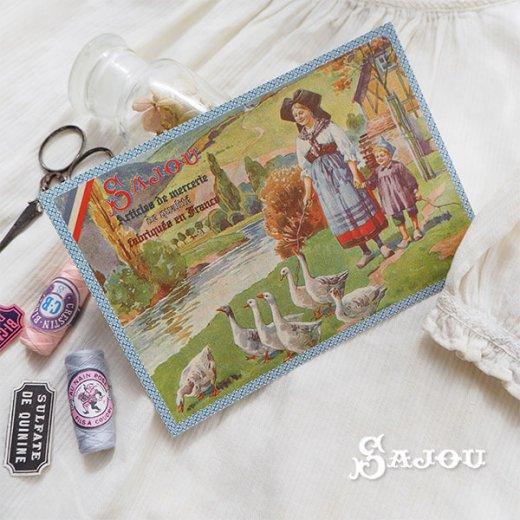 フランス SAJOU ポストカード【Alsace】【画像7】