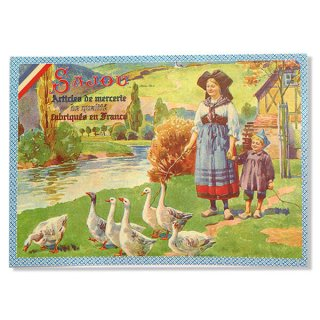 フランス SAJOU ポストカード【Alsace】