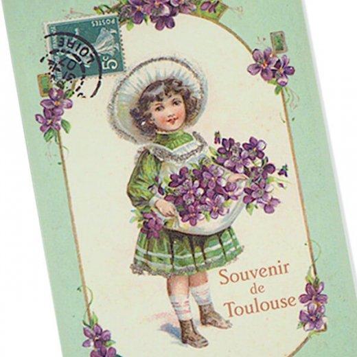 フランス ポストカード スミレ   トゥールーズのお土産【Souverir de Toulouse】【画像2】