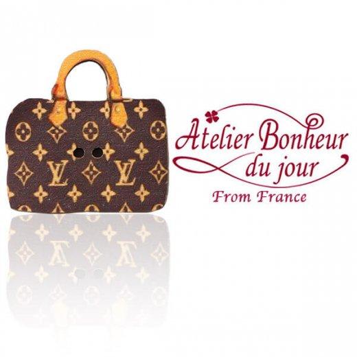 フランス輸入ボタン アトリエ・ボヌール・ドゥ・ジュール【バッグ sac louis】