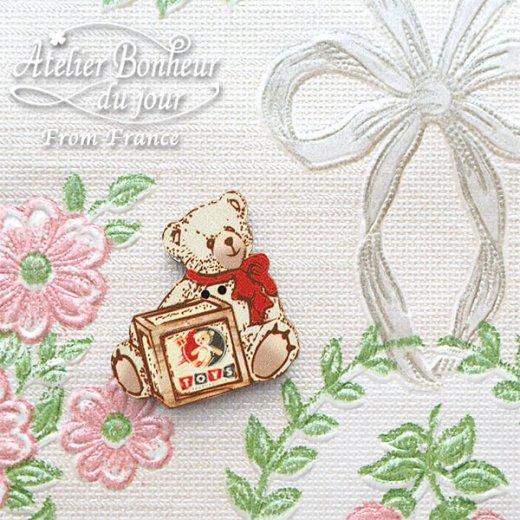 フランス輸入ボタン アトリエ・ボヌール・ドゥ・ジュール【ベア TOYS】【画像5】
