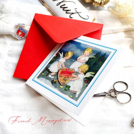 フランス メッセージカード  封筒セット(ange・天使)【画像2】