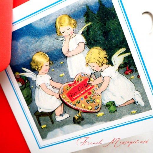 フランス メッセージカード  封筒セット(ange・天使)【画像3】