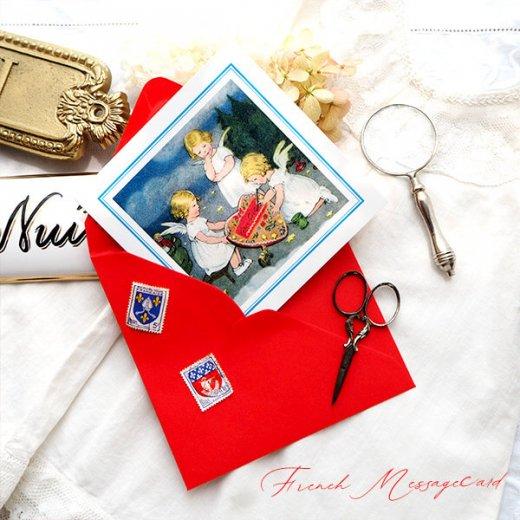 フランス メッセージカード  封筒セット(ange・天使)【画像4】