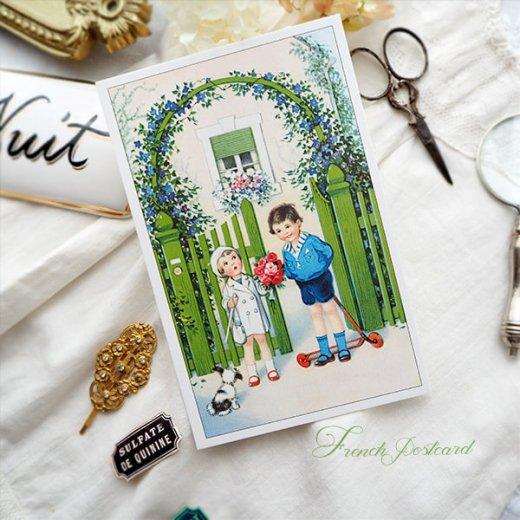 フランス ポストカード  (Bienvenue F)【画像3】