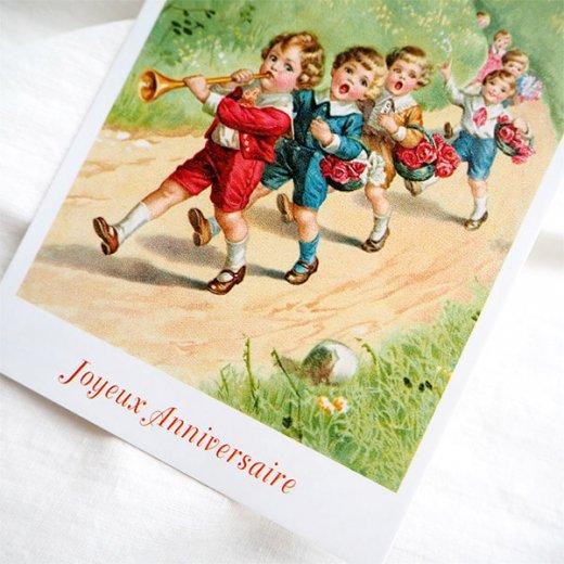 フランス ポストカード  (Joyeux Anniversaire 1)【画像4】