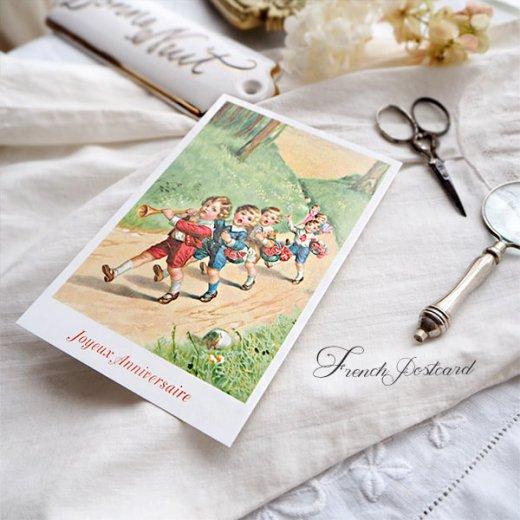 フランス ポストカード  (Joyeux Anniversaire 1)【画像5】