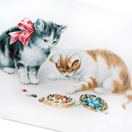フランス ポストカード 猫 キャット  (Boîte de bonbons)【画像2】