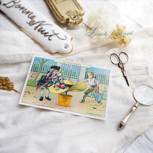 フランス ポストカード  (LES PETITS SAVANTS〜 小さな知識 〜A)【画像5】