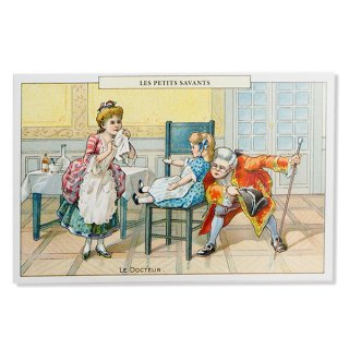 絵本・挿絵系 フランス ポストカード  (LES PETITS SAVANTS〜 小さな知識 〜B)