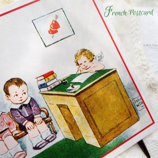 フランス ポストカード 将来の・・・(Je cherche un mari !)【画像3】