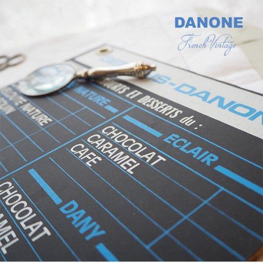 【レア】1960年代 フランス蚤の市より アンティーク DANONE ダノン カフェ ボード【Gervais-Danone】 アドバタイジング 販促品【画像3】