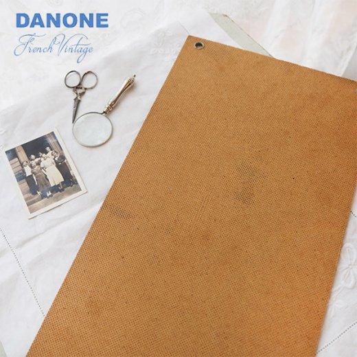 【レア】1960年代 フランス蚤の市より アンティーク DANONE ダノン カフェ ボード【Gervais-Danone】 アドバタイジング 販促品【画像4】