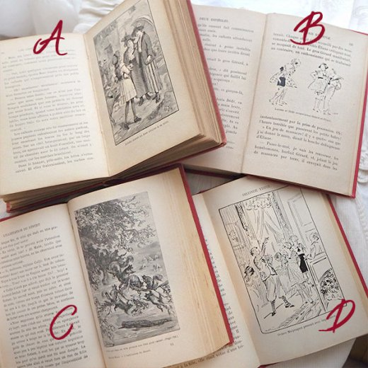 【単品販売】1925-30年代フランス  アンティーク本  天使 エンジェル 表紙【画像5】