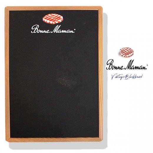 ヴィンテージ Bonne Maman ボンヌママン ブラックボード 黒板【Gervais-Danone】 アドバタイジング 販促品