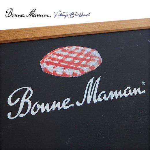 ヴィンテージ Bonne Maman ボンヌママン ブラックボード 黒板【Gervais-Danone】 アドバタイジング 販促品【画像2】