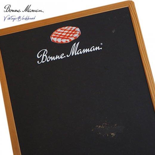 ヴィンテージ Bonne Maman ボンヌママン ブラックボード 黒板【Gervais-Danone】 アドバタイジング 販促品【画像4】