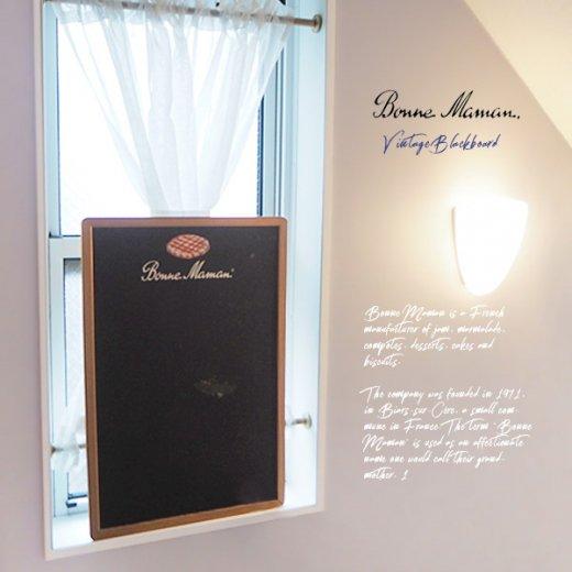 ヴィンテージ Bonne Maman ボンヌママン ブラックボード 黒板【Gervais-Danone】 アドバタイジング 販促品【画像5】