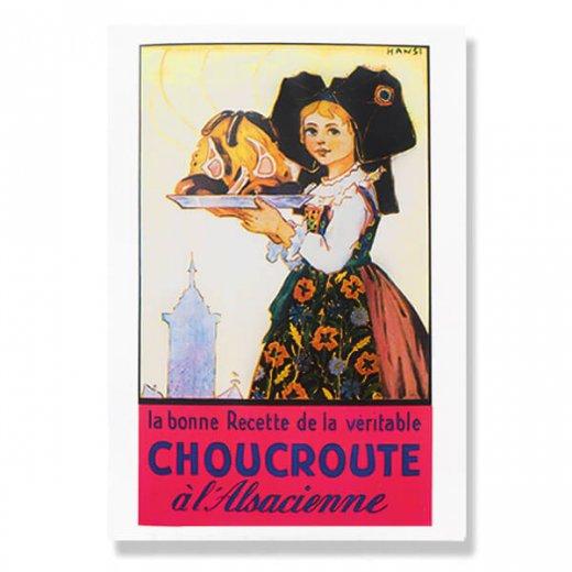 フランスポストカード (ハンジ HANSi Choucroute)