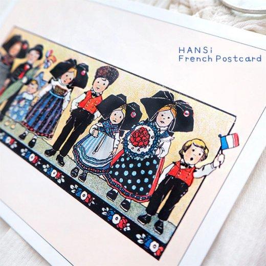 フランスポストカード (ハンジ HANSi Photo commemorative A)【画像3】