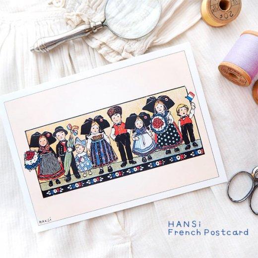 フランスポストカード (ハンジ HANSi Photo commemorative A)【画像4】