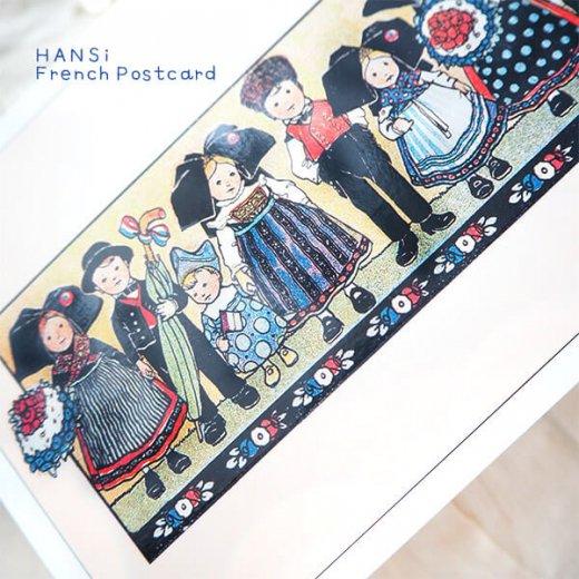 フランスポストカード (ハンジ HANSi Photo commemorative A)【画像5】