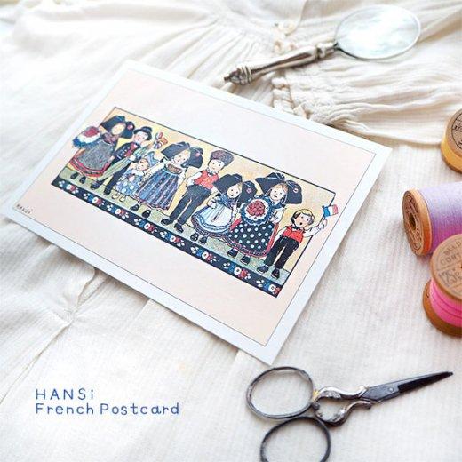 フランスポストカード (ハンジ HANSi Photo commemorative A)【画像6】