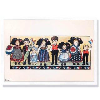 フランスポストカード (ハンジ HANSi Photo commemorative A)