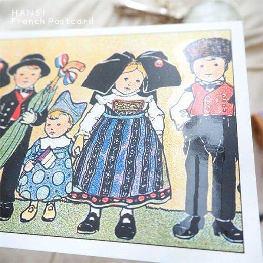 フランスポストカード (ハンジ HANSi Photo commemorative B)【画像4】