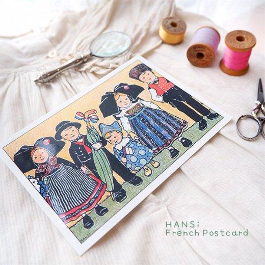 フランスポストカード (ハンジ HANSi Photo commemorative B)【画像5】
