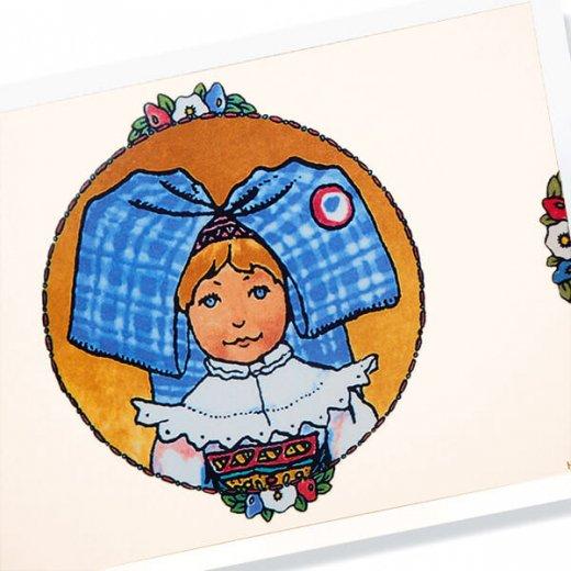 フランスポストカード (ハンジ Carreau bleu)【画像2】