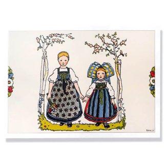 フランスポストカード (ハンジ Sœurs 姉妹 A)