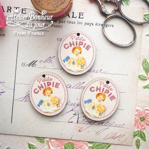 フランス輸入ボタン アトリエ・ボヌール・ドゥ・ジュール【Petite CHIPIE おてんばさん】【画像3】