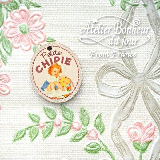 フランス輸入ボタン アトリエ・ボヌール・ドゥ・ジュール【Petite CHIPIE おてんばさん】【画像7】