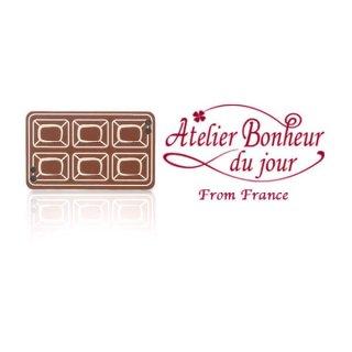 森ガール 雑貨 フランス輸入ボタン アトリエ・ボヌール・ドゥ・ジュール【スイーツ 板チョコtablette de chocolat】