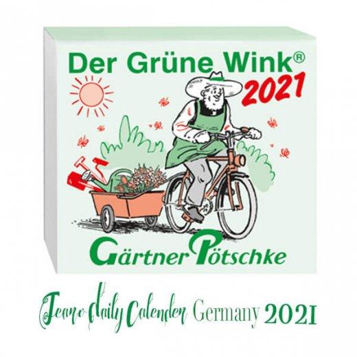 2022年 ドイツ RUNNEN (ブルネン)日めくりカレンダー
