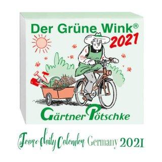 【予約商品】2021年 ドイツ RUNNEN (ブルネン)  ガーデニング 日めくりカレンダー(9月下旬入荷予定)