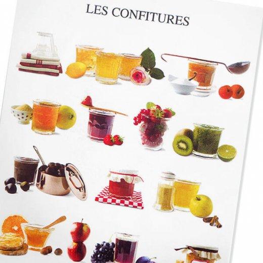 フランス ポストカード コンフィチュール ジャム(LES CONFITURES)【画像4】