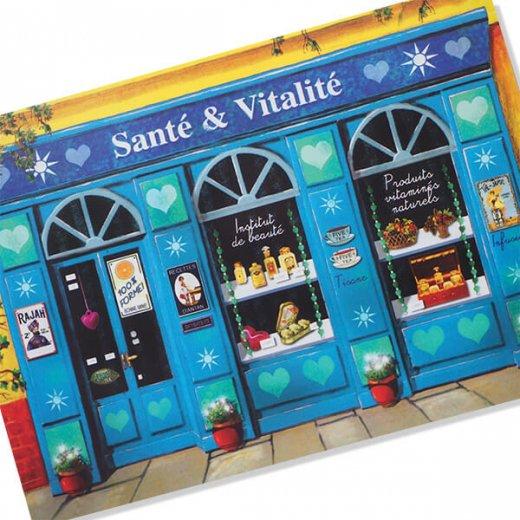 フランス ポストカード(Sante & Vitalite)【画像2】