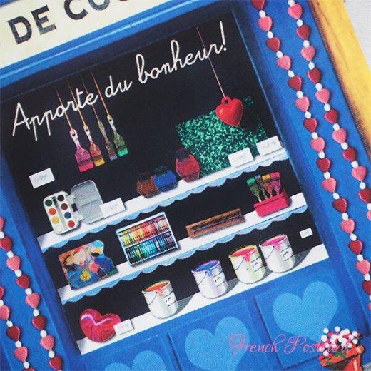 フランス ポストカード(Le marchand de couleurs)【画像3】