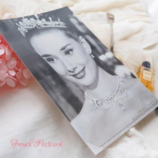 フレンチ ポストカード オードリー・ヘップバーン ティアラ ローマの休日 (Audrey Hepburn)【画像6】