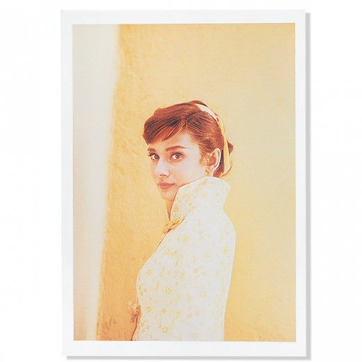フレンチ ポストカード オードリー・ヘップバーン 1955(Audrey Hepburn)