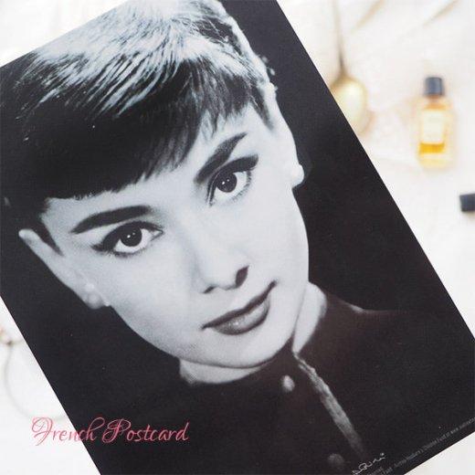 フレンチ ポストカード オードリー・ヘップバーン pc9493(Audrey Hepburn)【画像2】