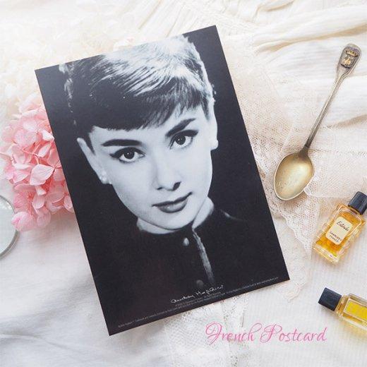 フレンチ ポストカード オードリー・ヘップバーン pc9493(Audrey Hepburn)【画像3】
