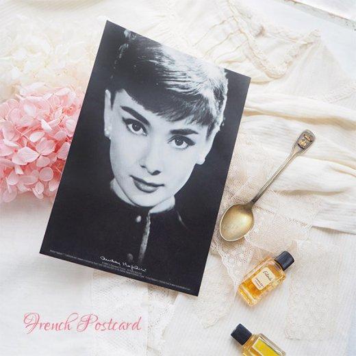 フレンチ ポストカード オードリー・ヘップバーン pc9493(Audrey Hepburn)【画像4】