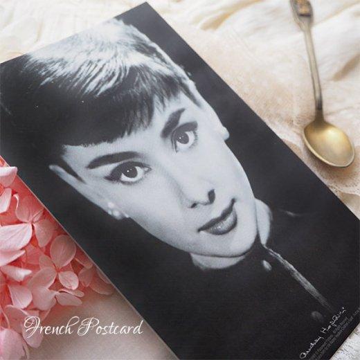 フレンチ ポストカード オードリー・ヘップバーン pc9493(Audrey Hepburn)【画像5】
