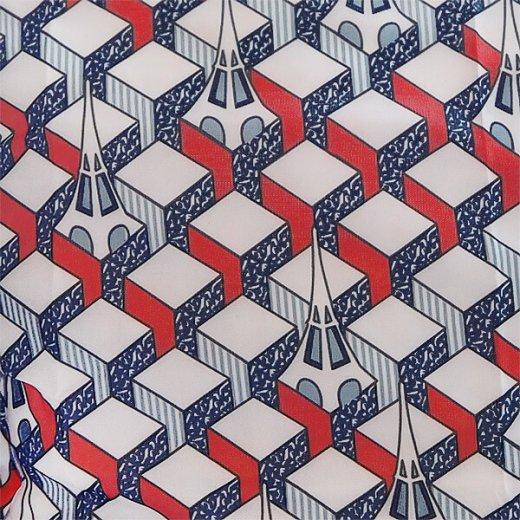 【フランス直輸入!】 MONOPRIX モノプリ エコバッグ【エッフェル塔 ブルー トリコロールカラー】【画像7】
