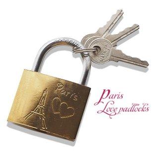 【デッドストック】フランス直輸入!フランス 南京錠 スーベニア お土産 お守り【ラブロック・Love padlocks】