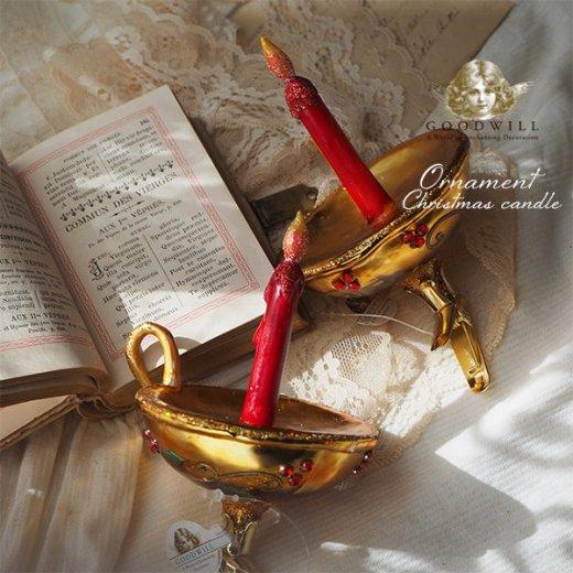 【単品販売】グッドウィル GOODWILL ベルギー直輸入 オーナメント 【キャンドル】クリスマス・バレンタインデー【画像5】